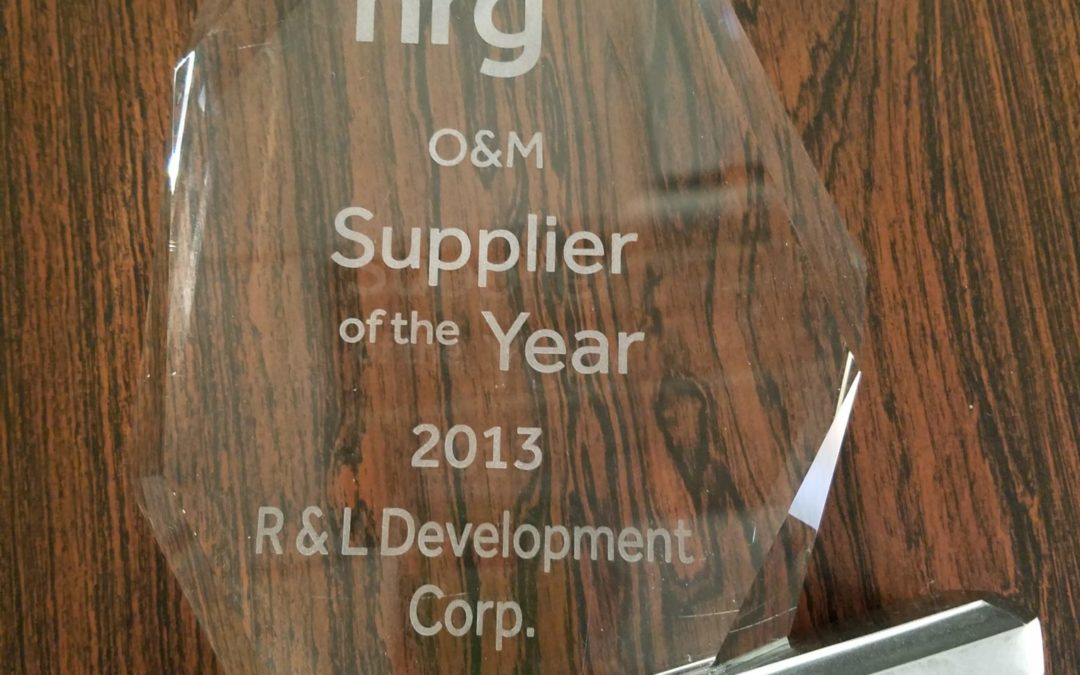 2013 NRG SUPPLIER OF THE YEAR